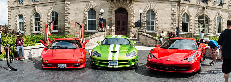 guelph exotic car show