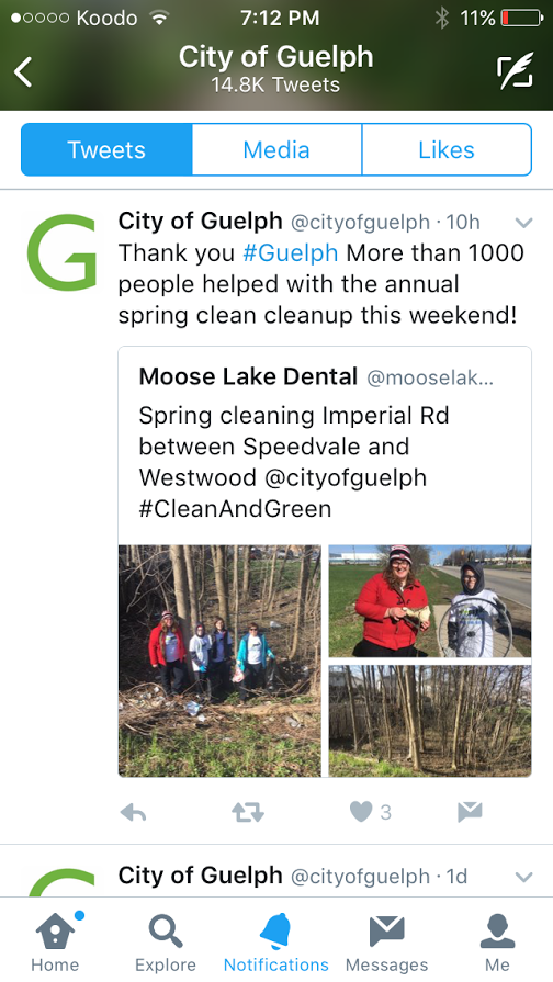City of Guelph Clean and Green