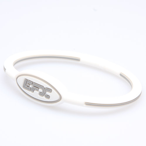 EFX WRISTBAND OVAL WH/COOL GRY