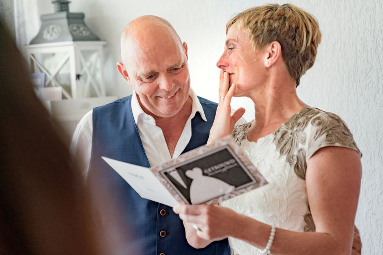 Nederlands ouder bruidspaar wordt verrast door handgeschreven gedicht @Capelle aan den IJssel in Rotterdam