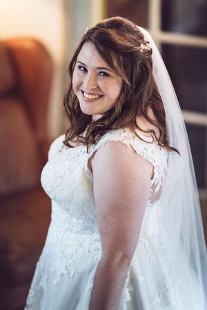 Bruid is klaar voor de trouwceremonie @Rotterdam