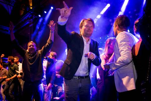 Eventfotografie Microsoft personeelsfeest in het Kurhaus @Den Haag