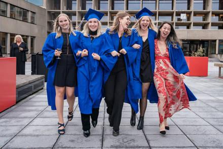 Eventfotograaf Afstuderen Erasmus Bachelorstudenten @Rotterdam
