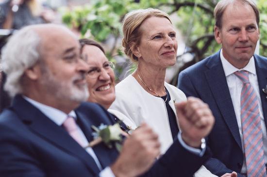 Ouders van bruid en bruidegom blij @Rotterdam