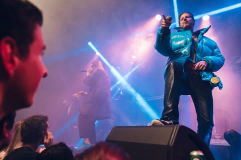 Concert De jeugd van tegenwoordig in Annebel @Rotterdam