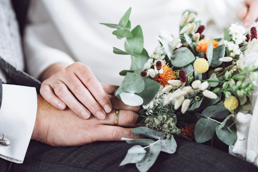 Bruidpaar heeft geloftes afgelegd
