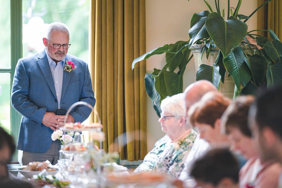 Speech door oom van bruidegom @Het Heerenhuys Rotterdam