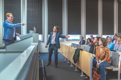 Bedrijfsfotografie met seminar op Hogeschool Rotterdam