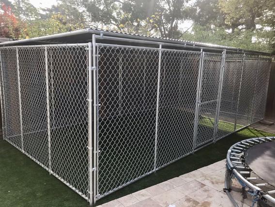 10' x 20' kennel