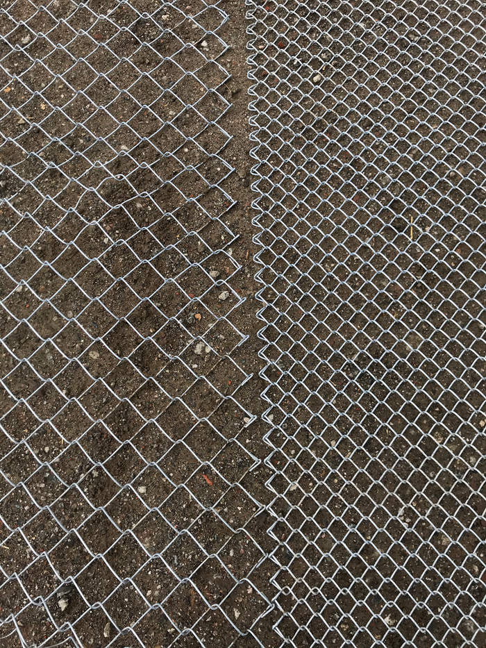 2inch chain link compared to 1inch chain