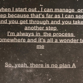 There's no Plan A