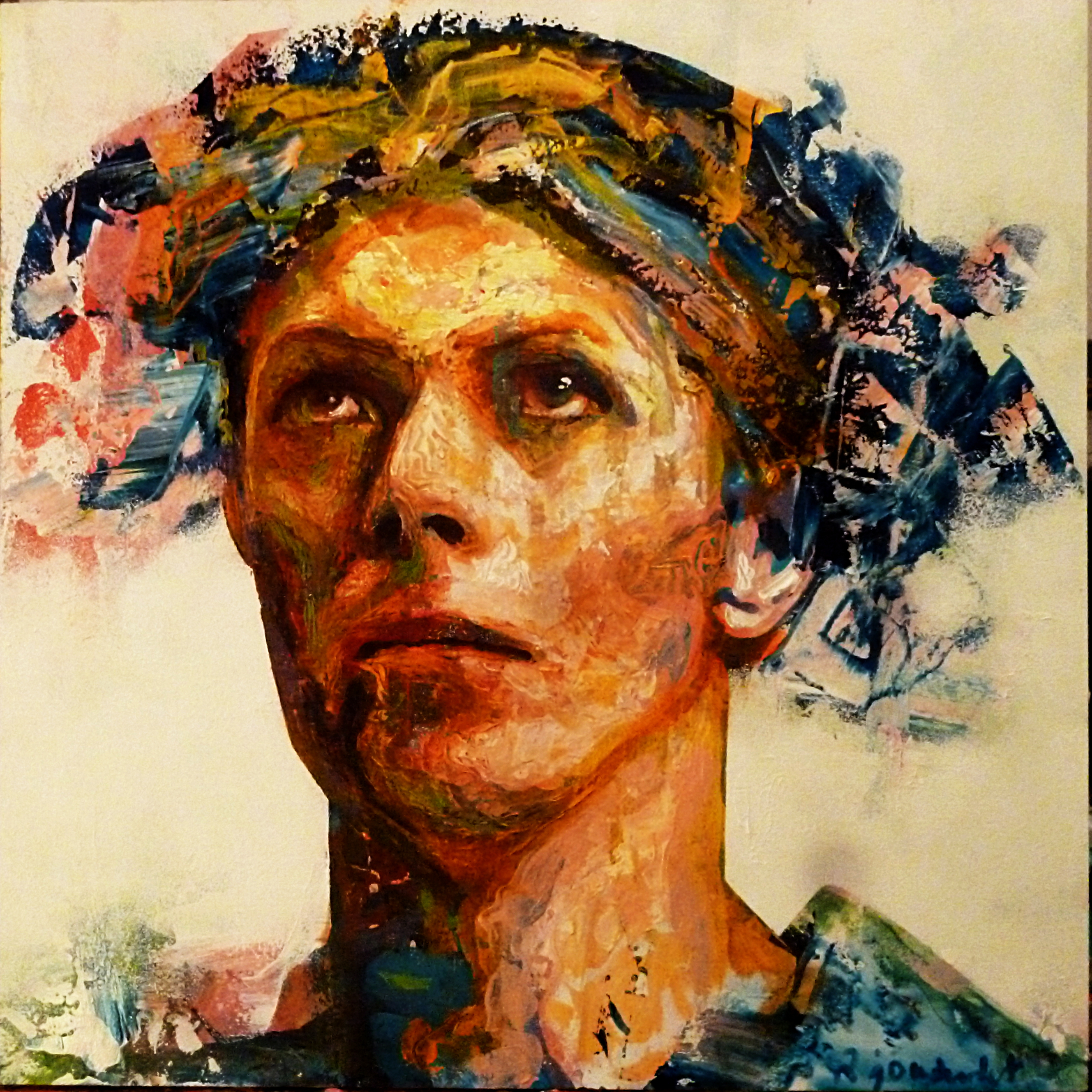 Ashes to ashes. David Bowie's portra