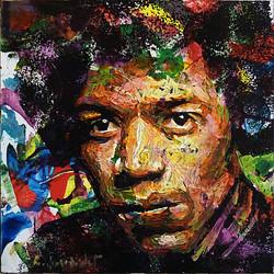 Jimi Hendrix par Rémi Jouandet