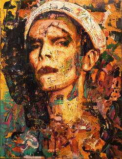 David Bowie / Clown Blanc