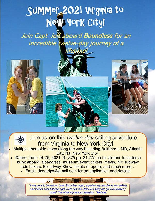 Summer 2021 Virginia to NYC alumni trip.