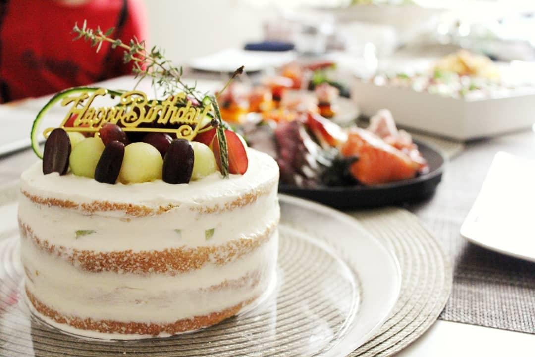 3月:春色デコレーションケーキを作るレッスン