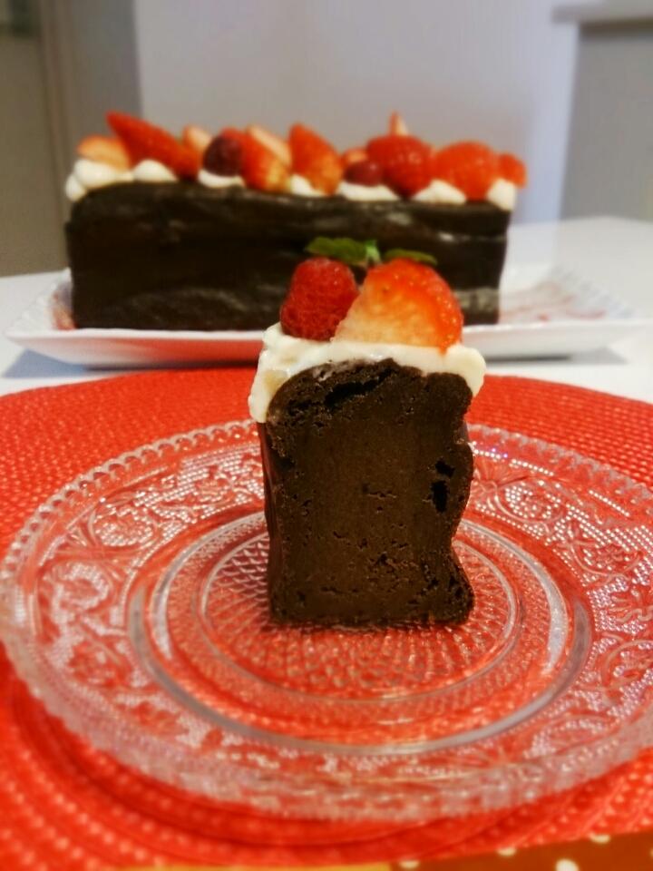 濃厚ショコラチーズケーキ。