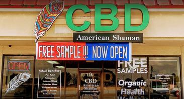 CBD American Shaman Abram Arlington TX Front Photo