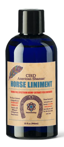 HORSE LINIMENT WITH CBD
