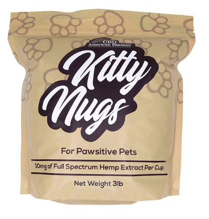CBD CAT FOOD KITTY NUGS