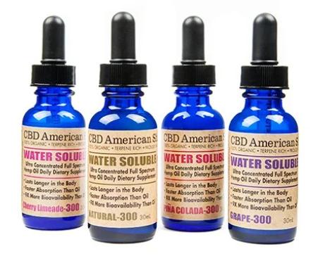 CBD WATER SOLUBLE FULL SPECTRUM HEMP OIL