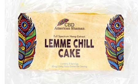 CBD LEMON CAKE EDIBLE