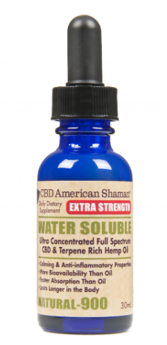 CBD EXTRA STRENGTH WATER SOLUBLE