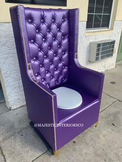 Metallic purple
