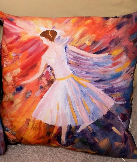 Dancer Cushion Cover