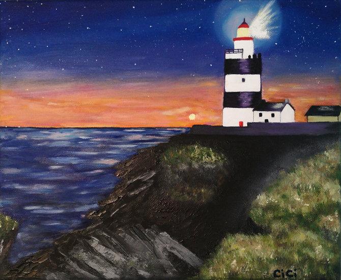 Lighthouse Teatowel