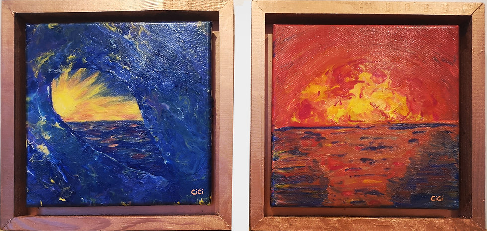 Sunrise and Sunset (Pair)