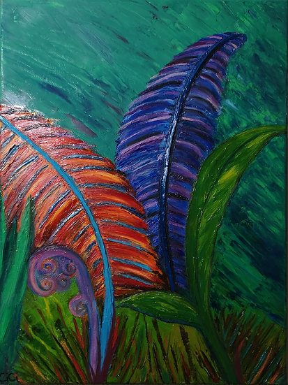 Tropical Ferns