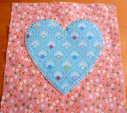 A beautiful heart finished!