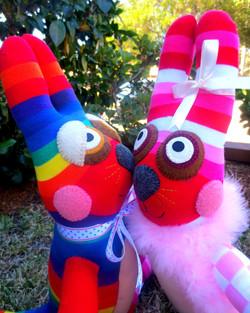 Sock Bunny Cuteness