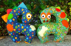 The Giraffe-a-saurus Pattern