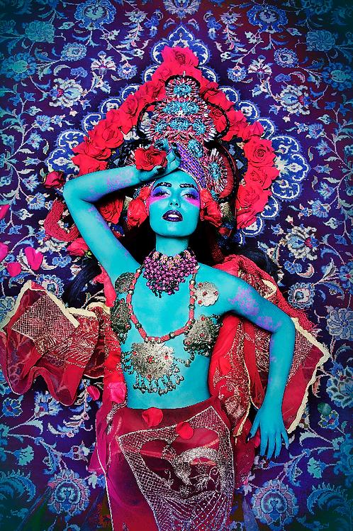 "13x19 Poster print ""Deva Red"" Glossy"