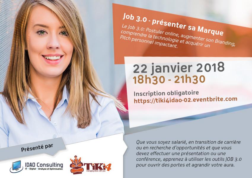 Workshop Tiki4 et IDAO - Lausanne - 22 Janvier 2018