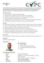 CVPC - Pascal Metrailler - LinkedIn rese