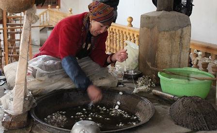 Attitude Qi Gong - Dérouler la soie du cocon