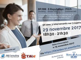 """Workshop - Cursus - """"Business Plan/Model 2.0 + Creative & Product Pitch"""" par TiKi4 et"""