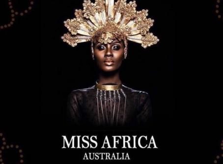 Miss Africa Australia Welcomes Beya