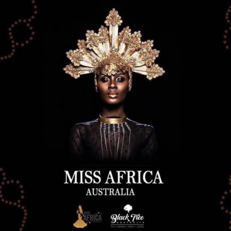 Miss Africa Australia Welcomes Beya