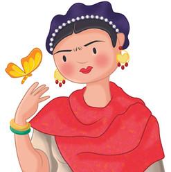 Frida mariposa