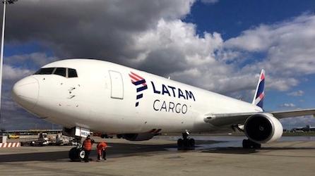 Latam Cargo Plane