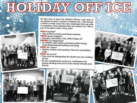 2020 Holiday Off Ice Challenge!