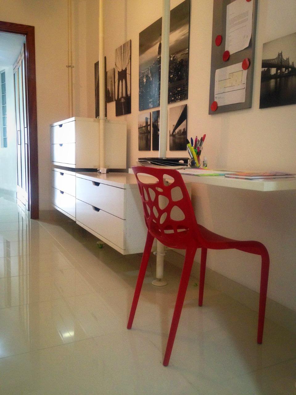 de pasillo a home office - Naco