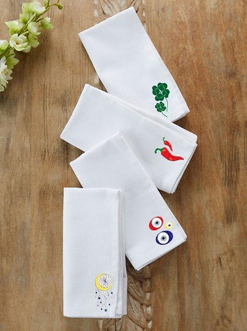 Set de servilletas de algodon