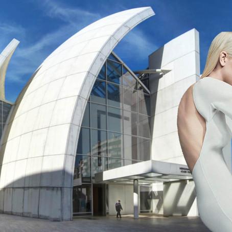 Alta moda inspirada en arquitectura