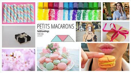 Petits Macarons Moodboard