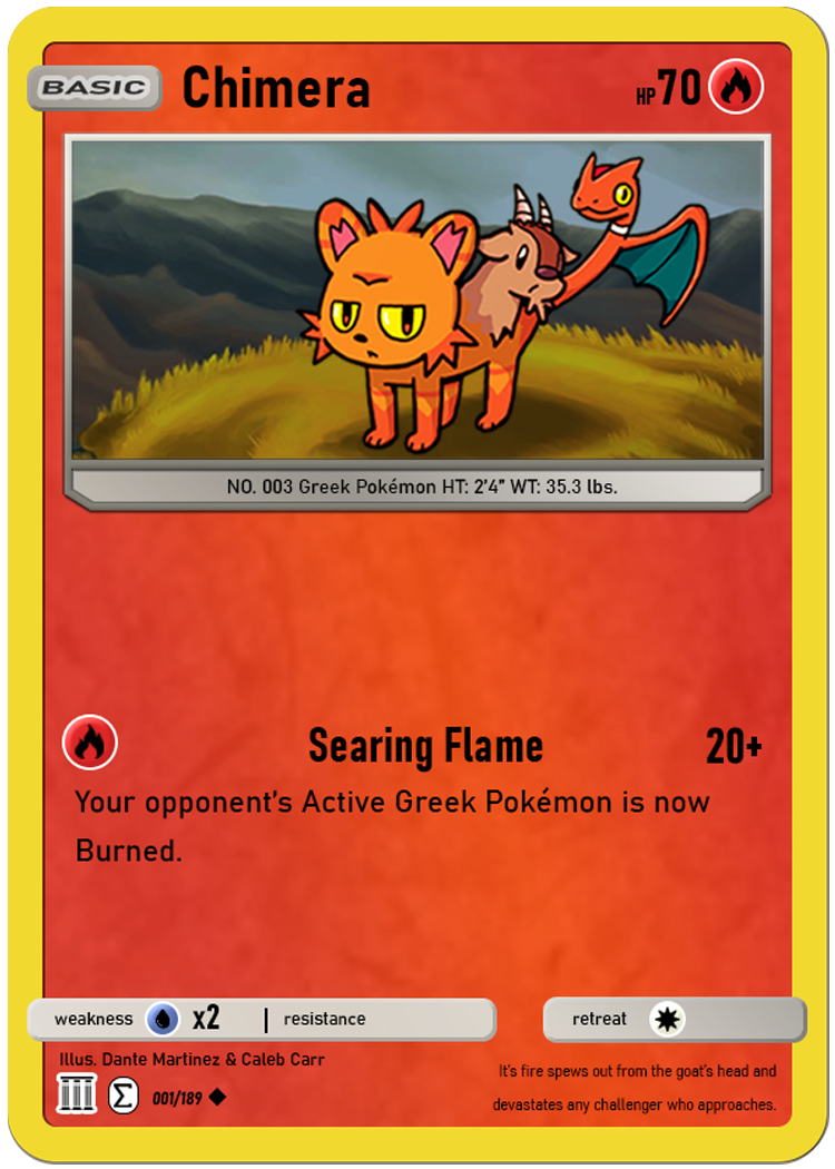 Chimera Pokemon Card_finished